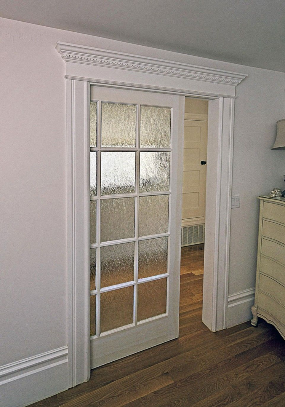 White Door Frame Glass Sliding Doors More Modern Beautiful Frames