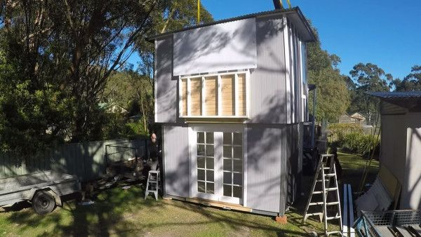 Modern Tiny Cabin and a Two-Story Pop-Up Tiny House! | Tiny House