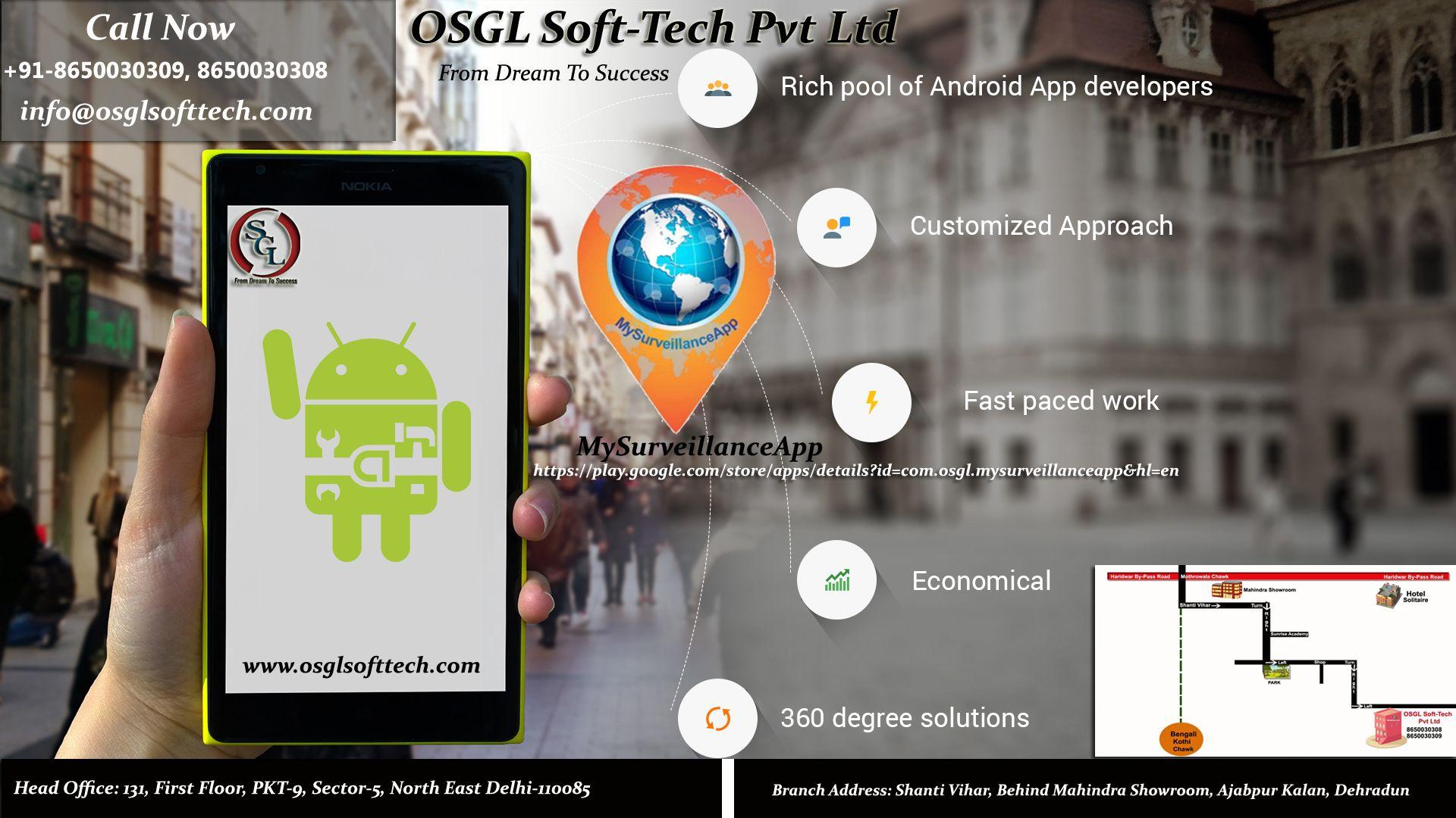 Pin by OSGL SoftTech Pvt Ltd on Website & Software