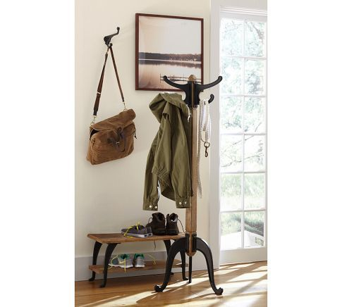 Industrial Coat Rack Pottery Barn Lee Residence Pinterest Best Coat Rack Pottery Barn