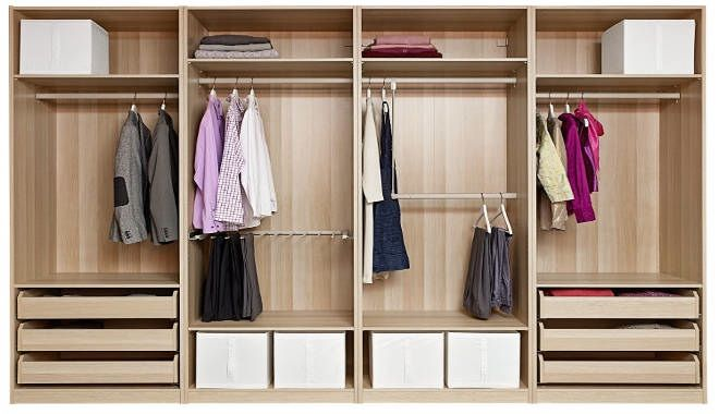 Ikea Pax Wardrobe Organiser Examples Google Search
