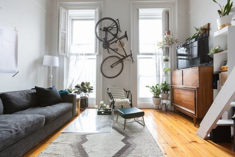 Bike Storage Ideas For Small City Apartments Apartment Therapy