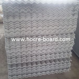 Popular China Small Wave Fiber Cement Corrugated Roof Tile Africa Market