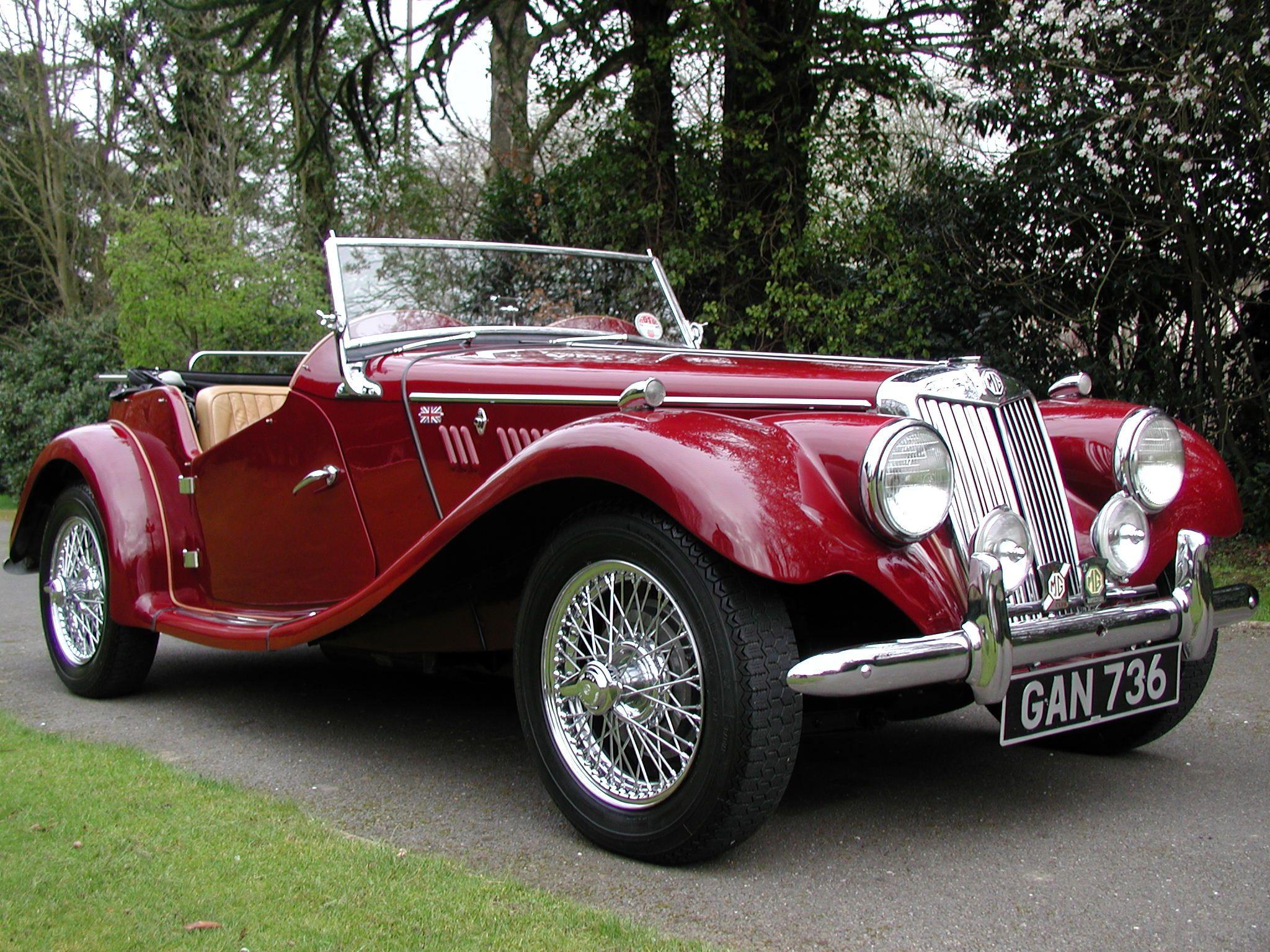 1954 MG TF Maintenance/restoration of old/vintage vehicles