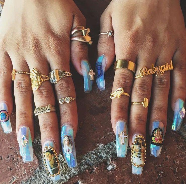 Pinteret Lilglogirl Pinterest Ghetto Nails Nail