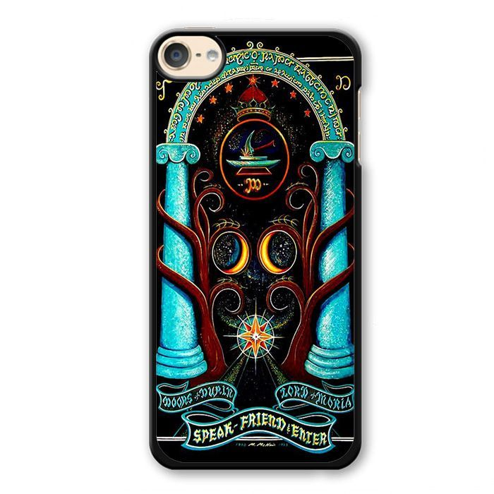Magic Gate Of Moria Lord Of The Ring Apple Phonecase For Ipod Touch 4 Ipod Touch 5 Ipod Touch 6