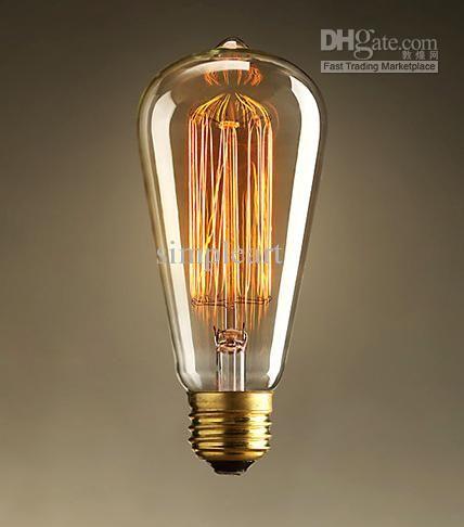 Commercio All Ingrosso Di Altre Lampadine E Tubi Di Illuminazione Acquista 1910 Antico Vintage Edison Dell Lampadine Di Edison Illuminazione Edison Lampadina