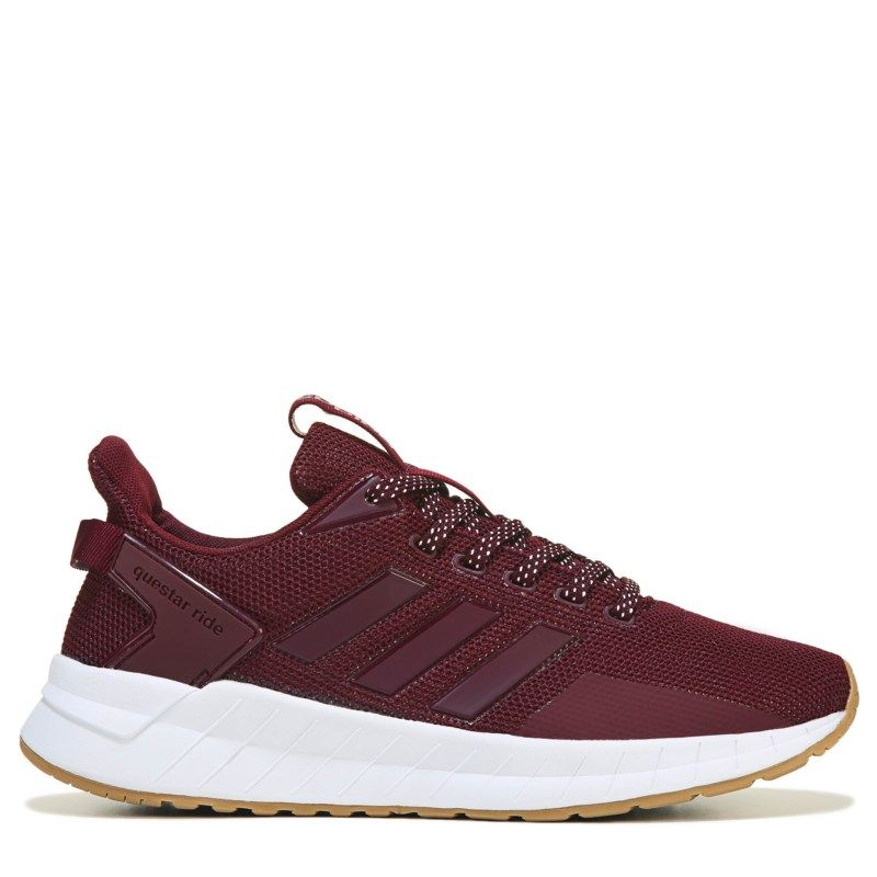 best sneakers 301e0 01540 Adidas Women s Questar Ride Running Shoes (Maroon White Gum)