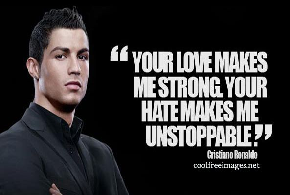 Inspiration Sports Quotes CristianoRonaldo