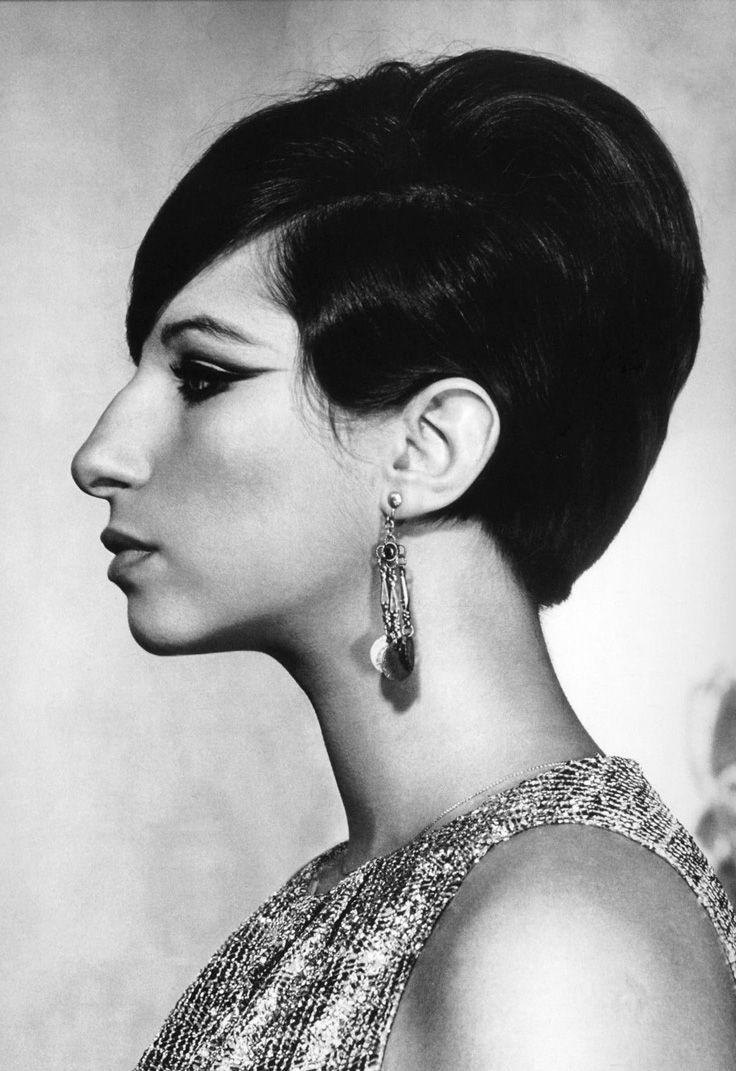 8x10 B/&W Photo 1964 Barbra Streisand