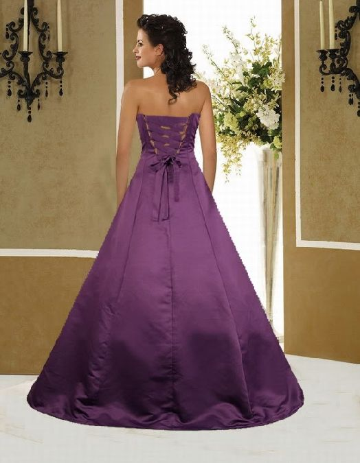 dark purple wedding dress | shoot for the moon <3 | Pinterest ...