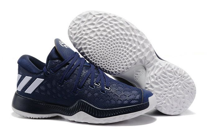 James Harden Vol.2 Wholesale adidas James Harden Vol.2 Dark Blue White  Basketball