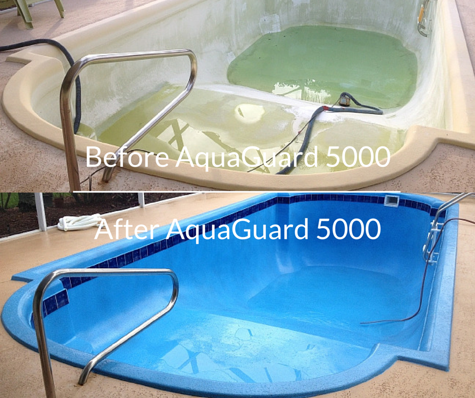 Resurface and refinish a pool with aquaguard 5000 diy - How long after pool shock before swim ...