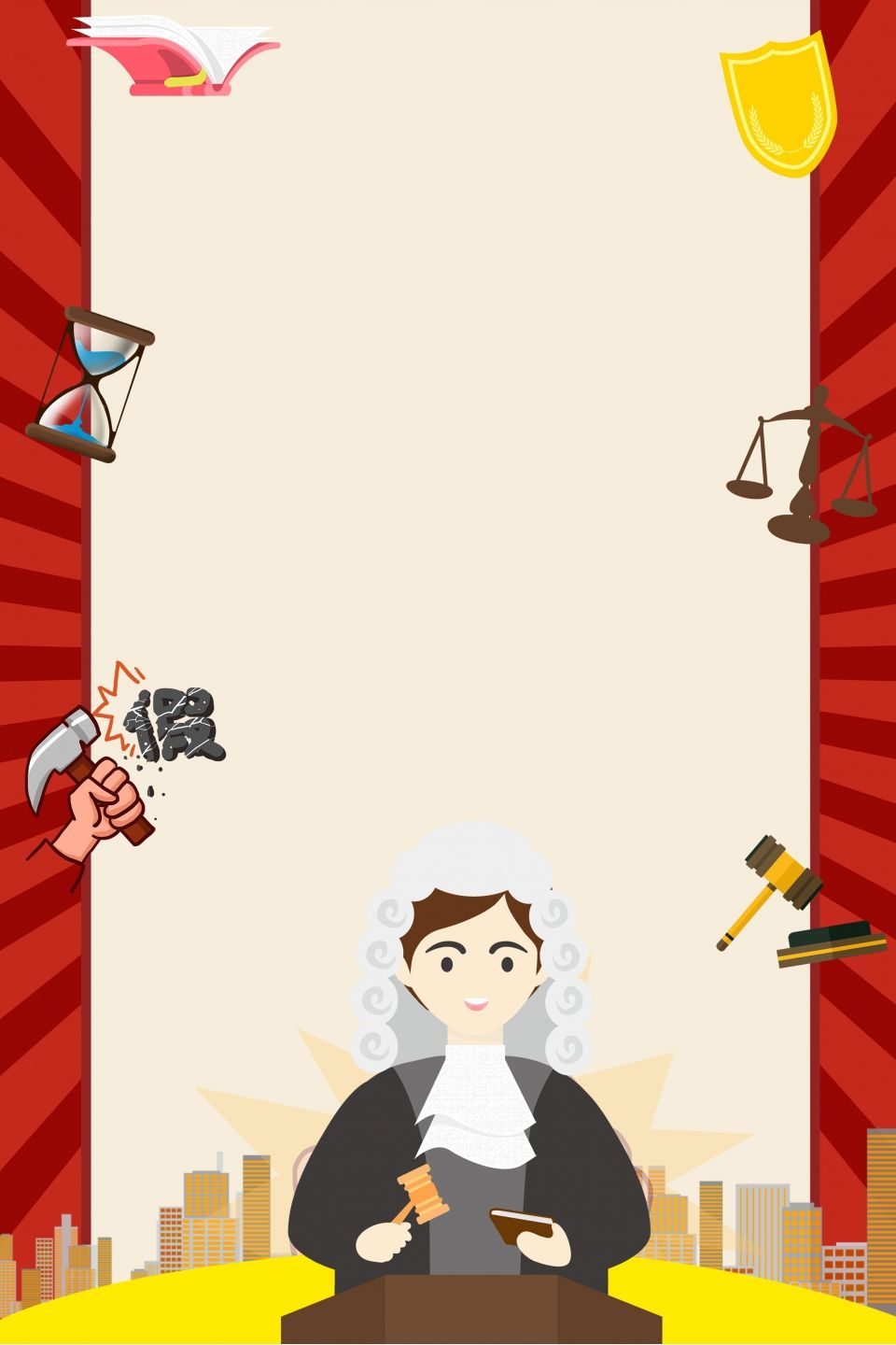 Creative Cartoon 315 Consumer Rights Day Composite Background