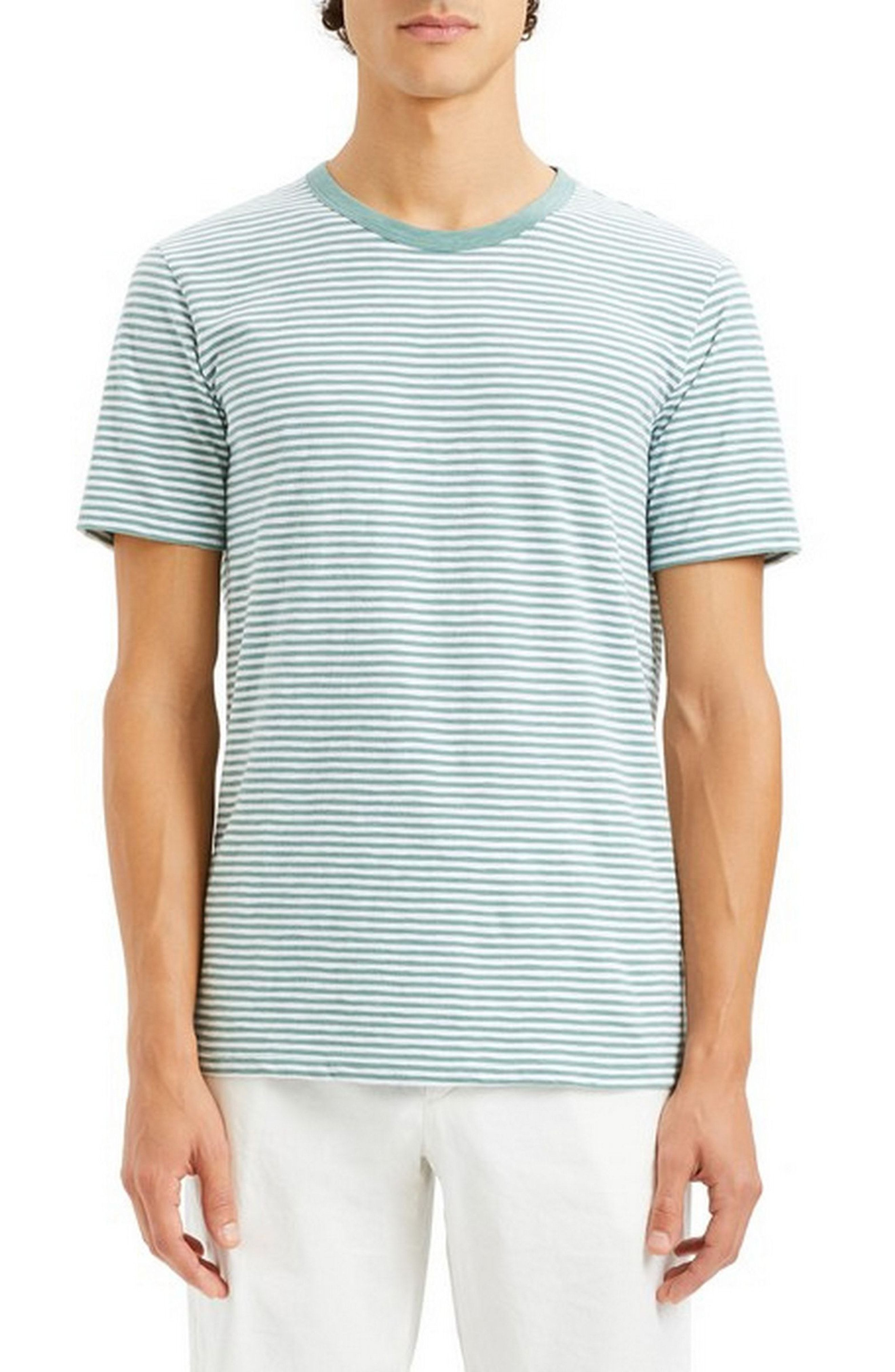 fdf51fcc205 THEORY ESSENTIAL COSMO1 STRIPE T-SHIRT. #theory #cloth | Theory in ...