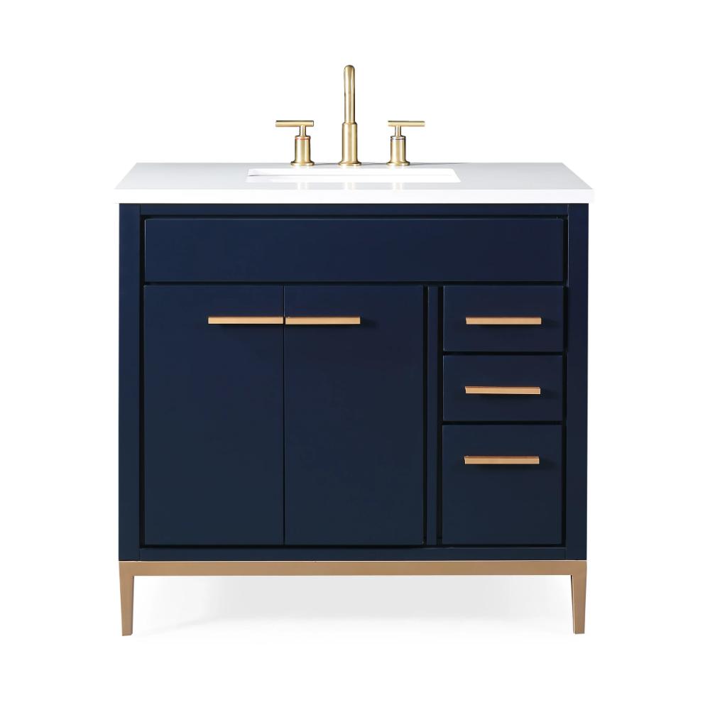 36 Tennant Brand Beatrice Navy Blue Modern Bathroom Sink Vanity Tb 9888nb V36 Modern Bathroom Sink Blue Modern Bathrooms Vanity Sink