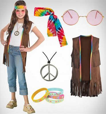 60s Costumes - 1960s Hippie Costumes - Party City  sc 1 st  Pinterest & 60s Costumes - 1960s Hippie Costumes - Party City | Halloween ...