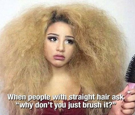 Funny Frizzy Hair Post Curly Problems
