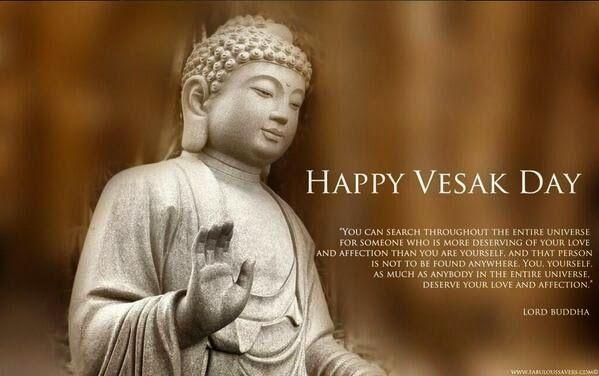 Happy Vesak Day Blog