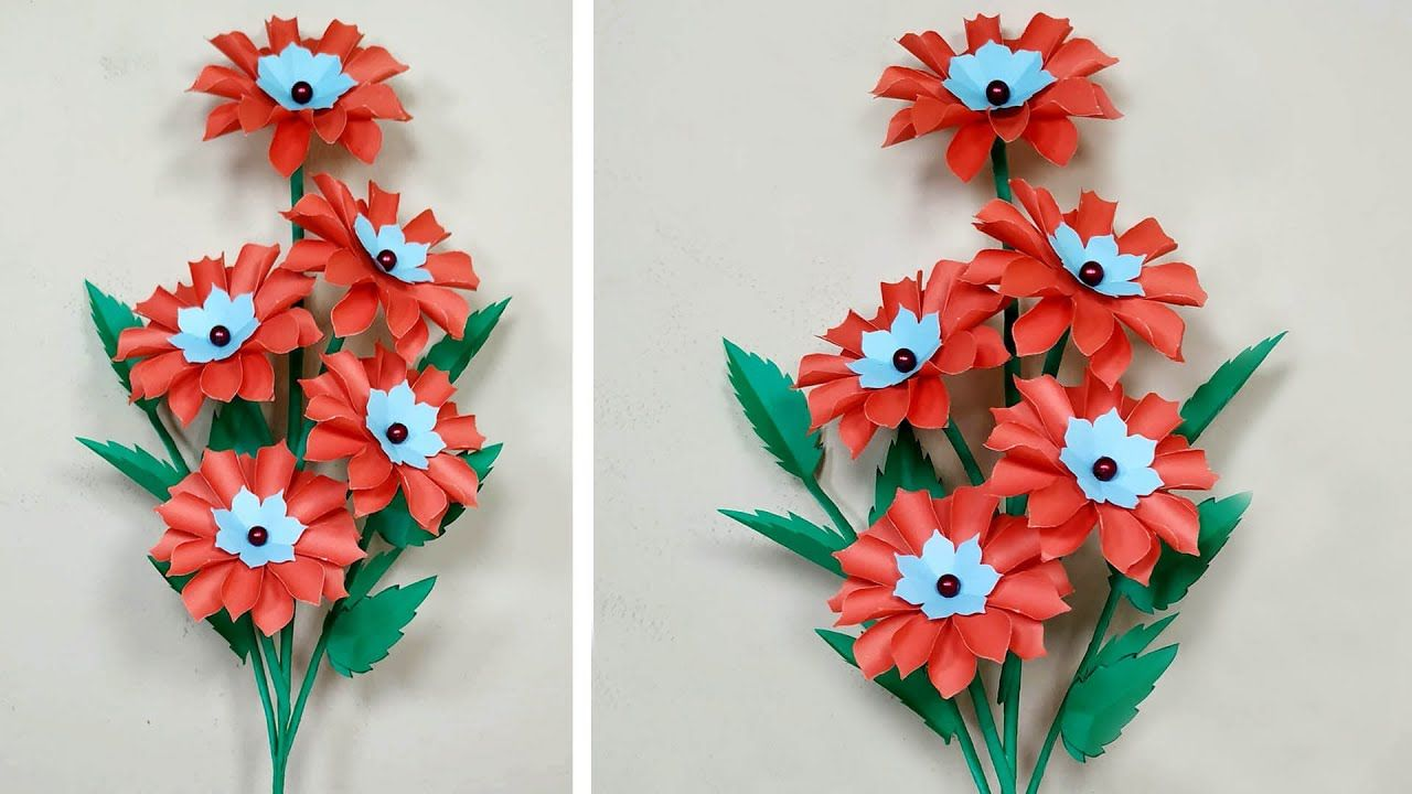 Pin On Paper Flower
