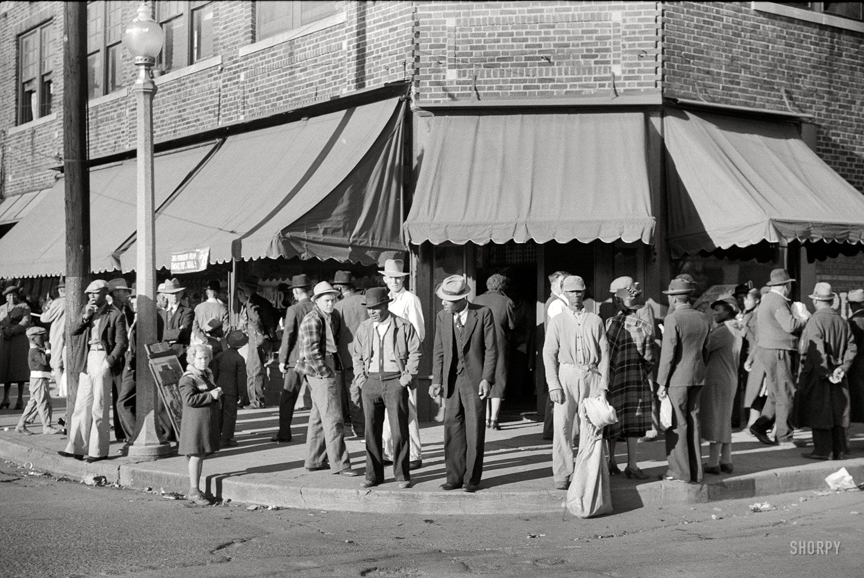 October 1939 Saturday Afternoon In Clarksdale Mississippi Delta 35mm Nitrate Negative By Marion Post Wolcot Mississippi Delta Clarksdale Historical Photos