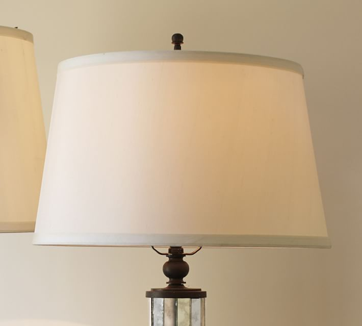 Silk tapered drum lamp shade this one is one clearance but size silk tapered drum lamp shade this one is one clearance but size small and only in espressobut my thought is to get new shades for mom dads aloadofball Images