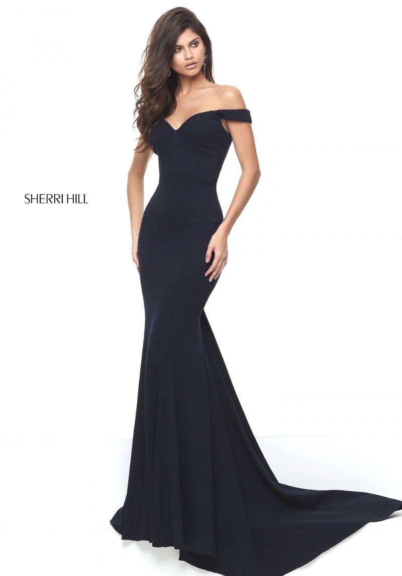 Carmen-Feeling pur! Dein Abendkleid in lang von Sherri Hill macht ...