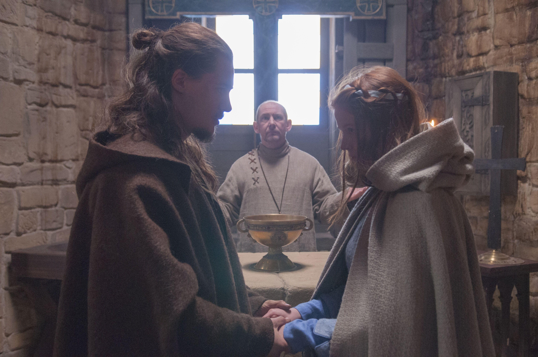 The Last Kingdom - Mildrith and Uhtred   The last kingdom