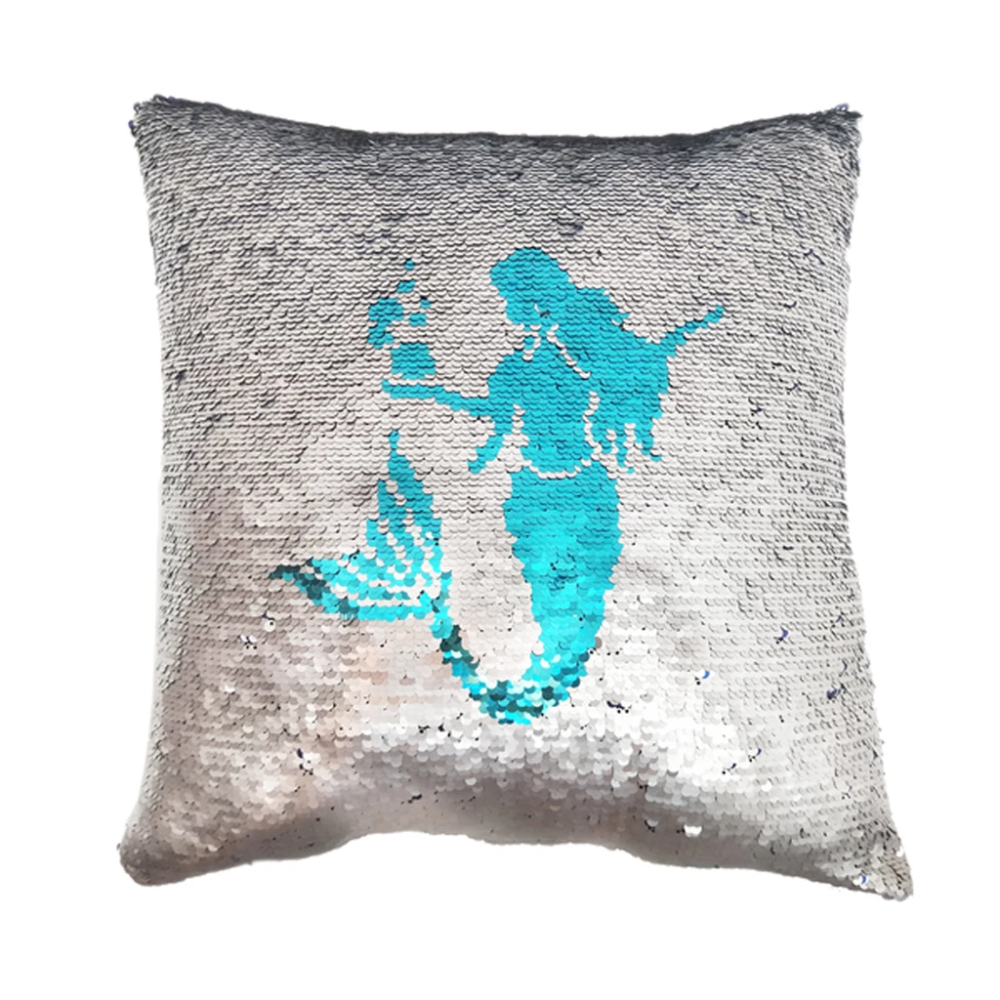 Mermaid Reversible Sequin Pillow Mermaid Pillow Sequin Pillow Mermaid