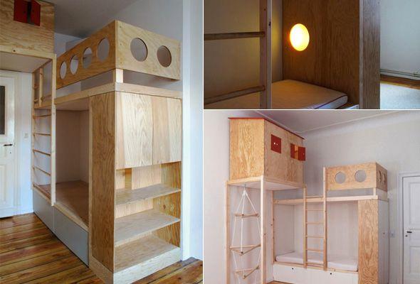 Bett, Hochbett Und Kinderzimmer
