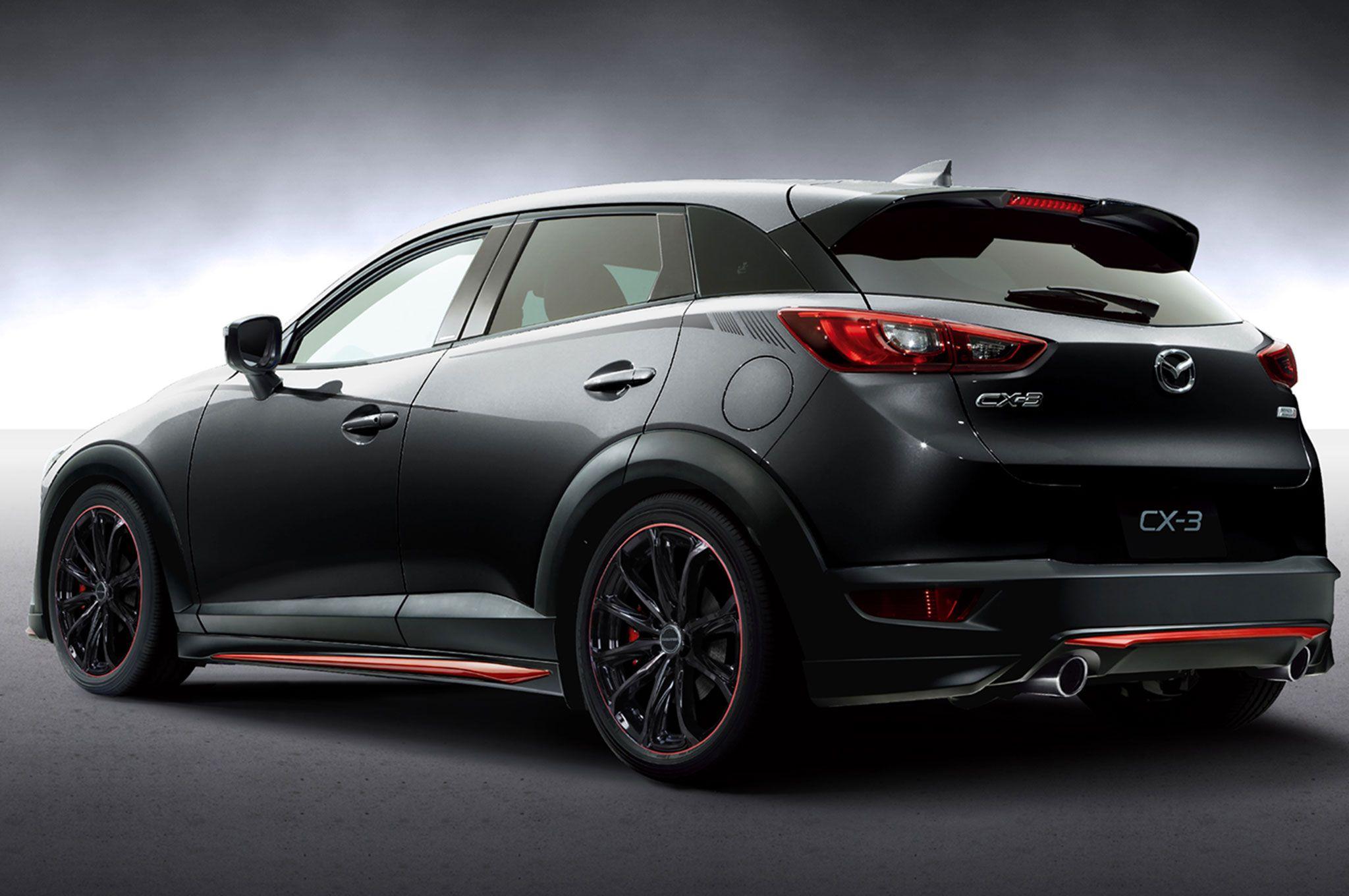 Mazda Cx3 Racing Concept Rear Three Quarters