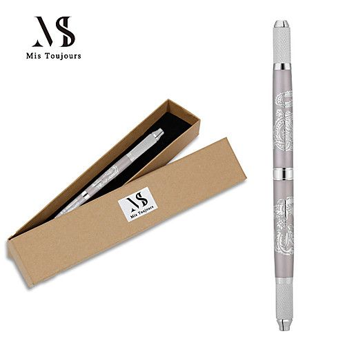 Manual Microblading Tebori Tattoo 3d Pen For Permanent Makeup Eyebrows Suitable For Big Size Blades Fast Micropigmentation