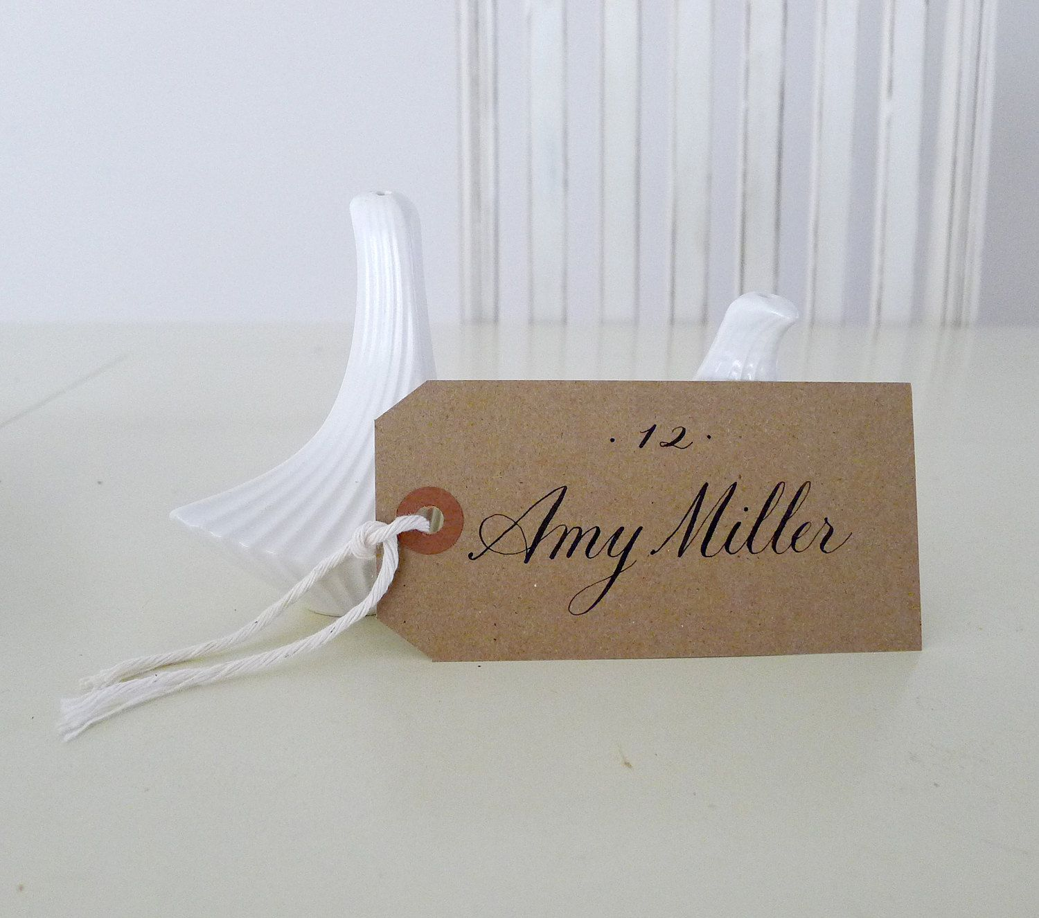 Wedding Calligraphy for Place Card, Escort Card, Name Card,Table ...