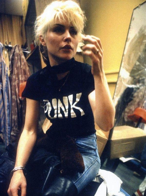Debbie Harry – Punk T-shirt http://tshirtsonfilm.com/2014 ...