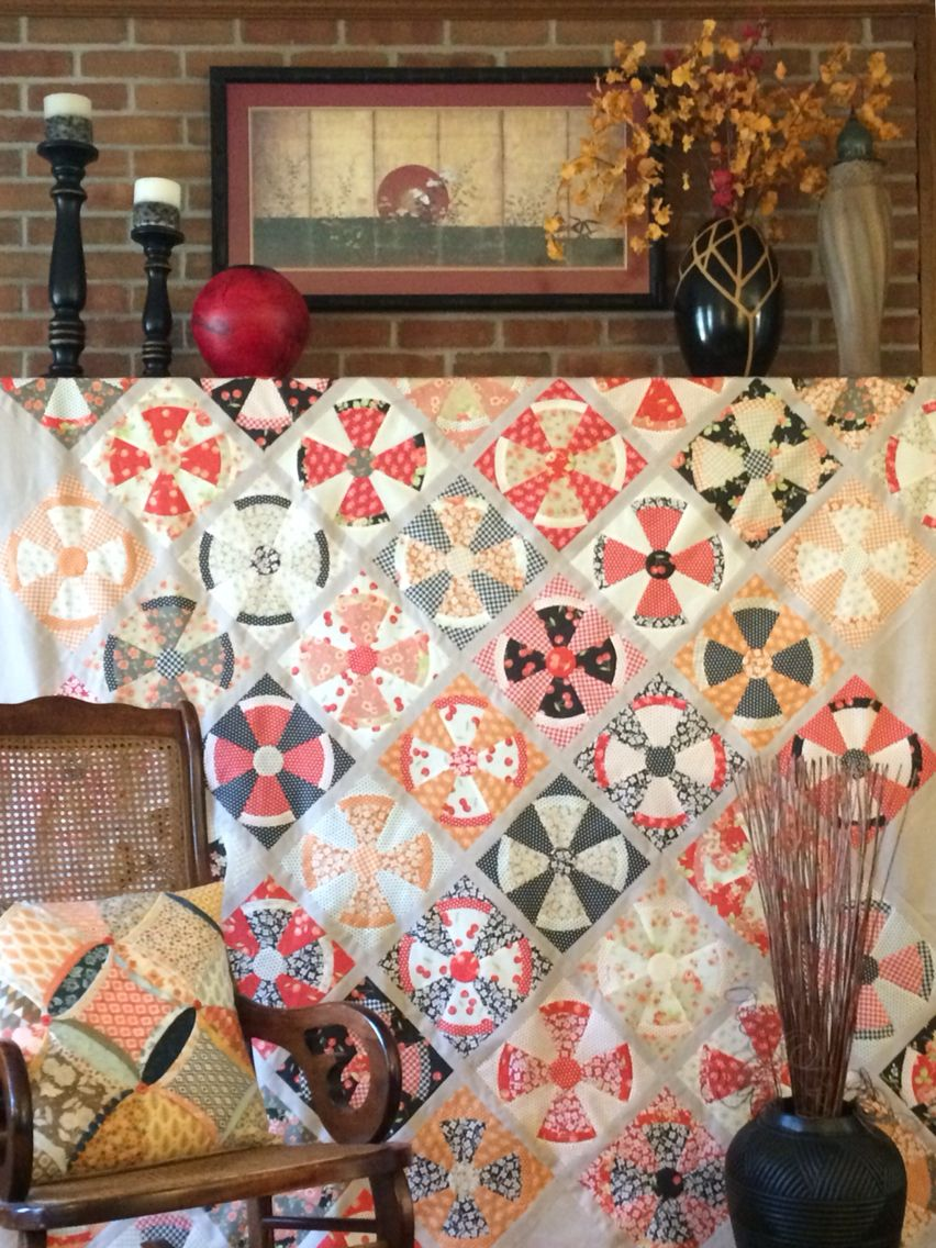 Steampunk quilt. Jen Kingwell. Fig Tree Farmhouse. | block and ... : steampunk quilt pattern - Adamdwight.com