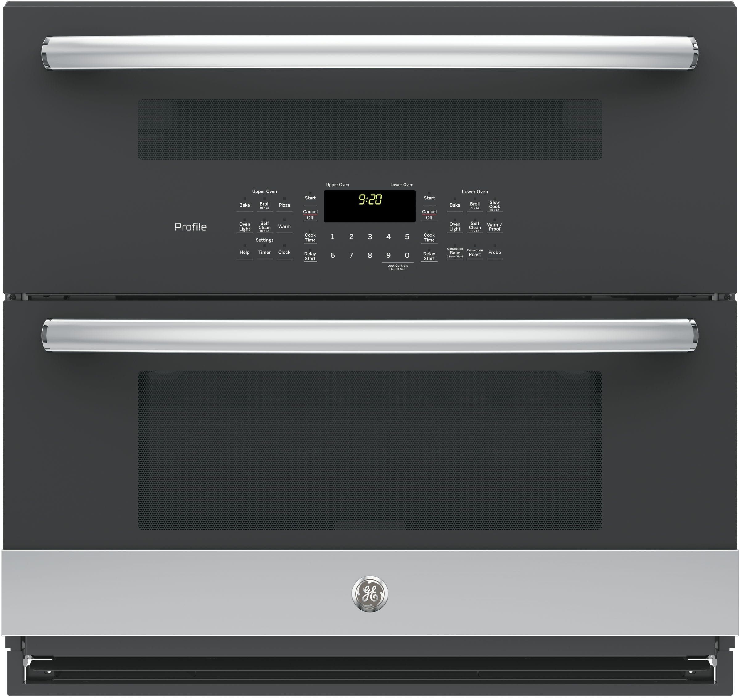 Ge Profile Pt9200slss Wall Oven Double Electric Wall Oven Convection Wall Oven