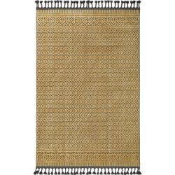 Photo of benuta Kurzflor Teppich Laila Gelb 190×290 cm – Moderner Teppich für Wohnzimmer benuta