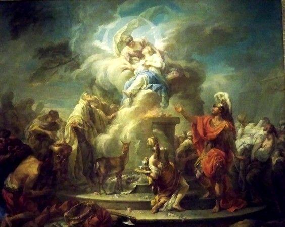 Le Sacrifice D Iphigenie 1749 De Gabriel Francois Doyen กราฟ ก ด ไซน