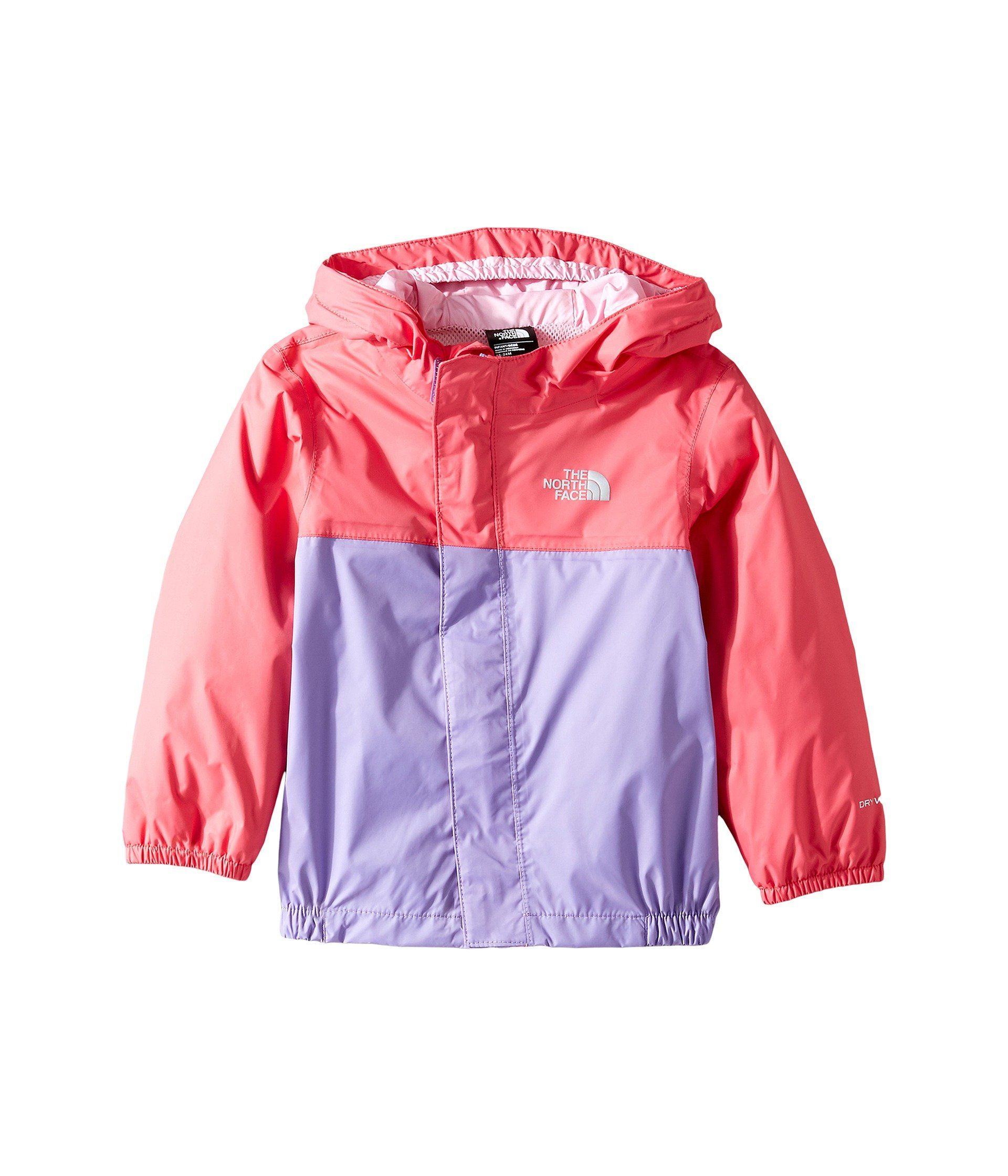 d15a1654168d The North Face Baby Girls  Tailout Rain Jacket - honey suckle pink ...