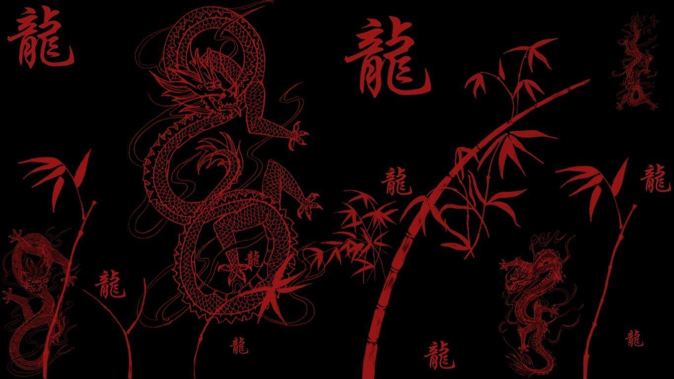 Japanese Dragon Phone Wallpaper