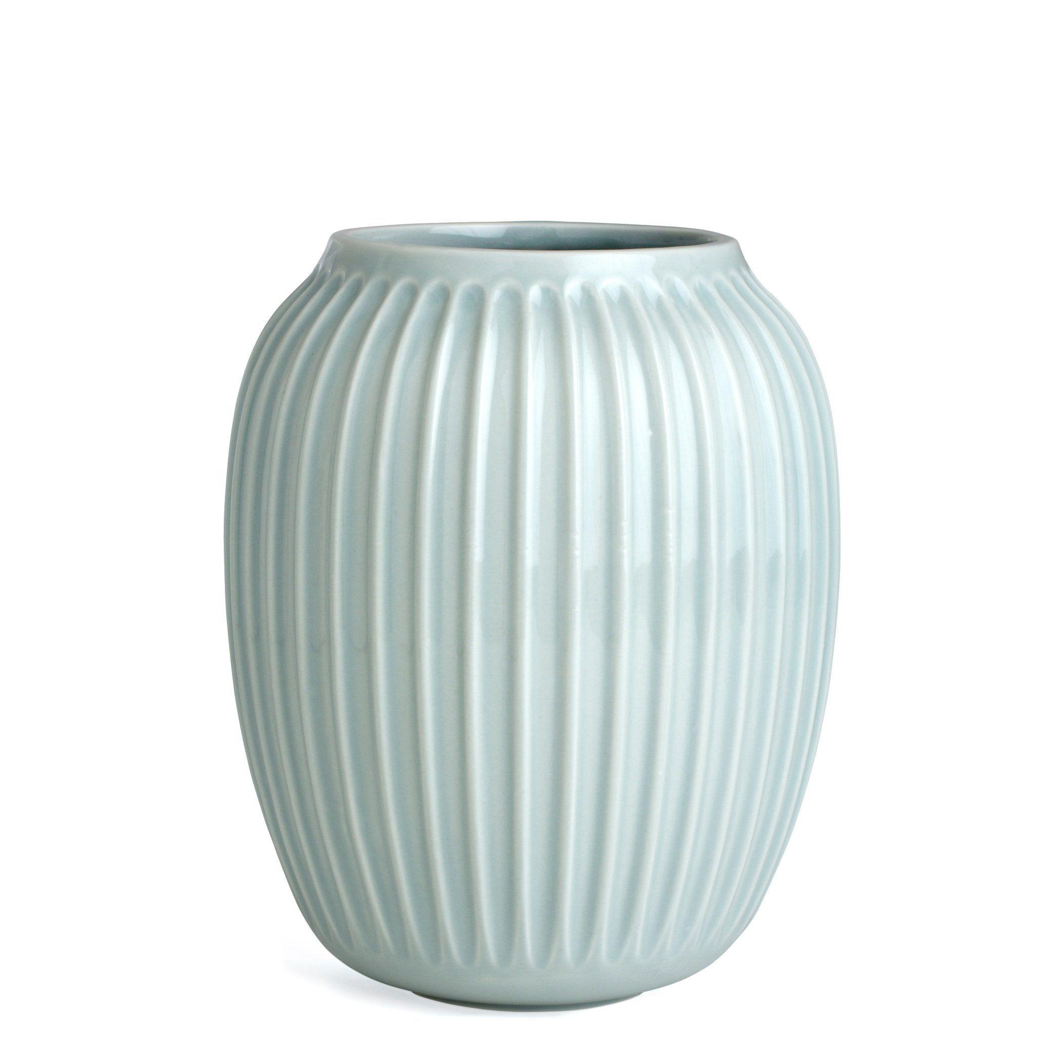 Kahler Hammershoi Medium Large Scandinavian Design Ceramic Vase Mint Light Green Medium Large Sized Contemporary Sc Large Ceramic Vase Ceramic Vase Vase