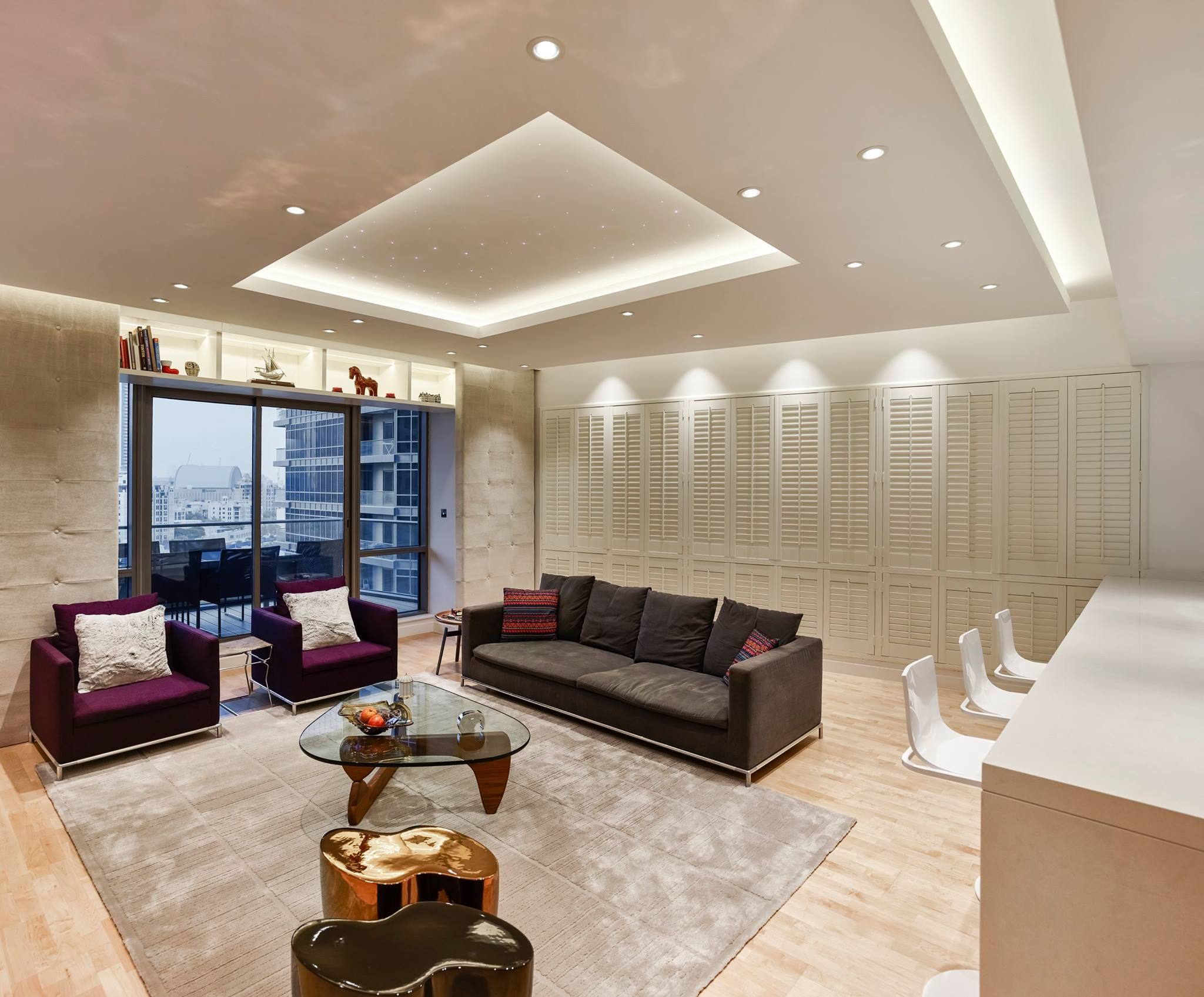 Swiss Bureau Interior Design Designed South Ridge appartment