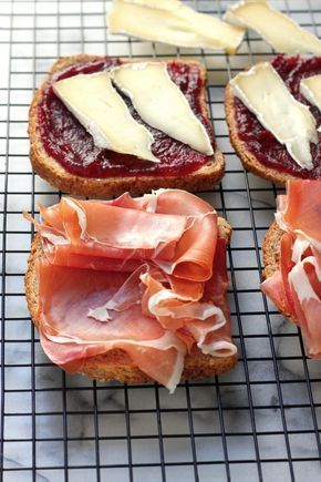 Photo of Cranberry, Brie, and Prosciutto Grilled Cheese – Baker by Nature