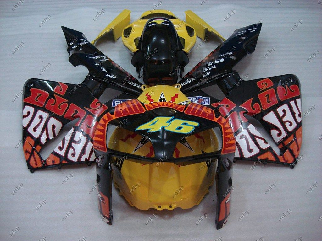05 For Honda Cbr600rr Fairing Kits Rossi Graffiti Girl Cbr 600 Rr 05