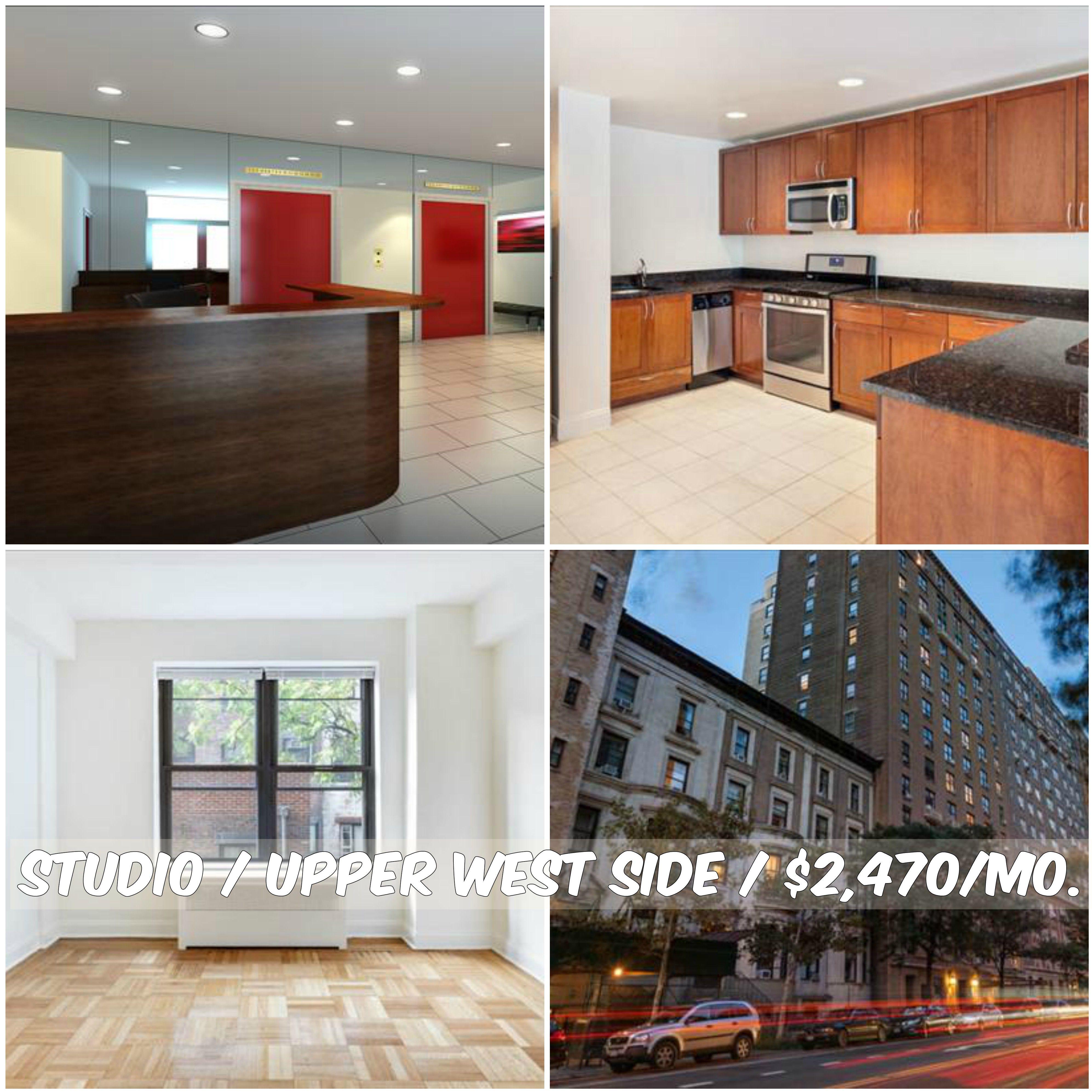 Studio Apt For Rent In Upper West Side At 2 470 Mo Doorman