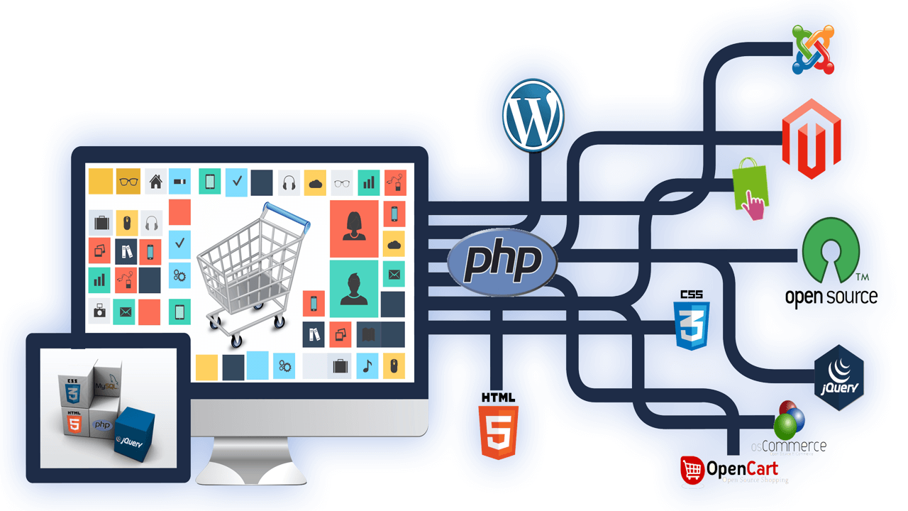 Shopify and Magento Ecommerce and Web Solutions | Web development ...