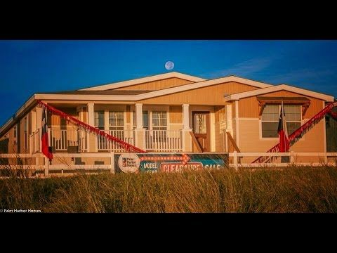 Lalinda Triplewide Built In Porch Mobile Modular Homes Video For Sale In Texas Youtube Palm Harbor Homes House In The Woods Manufactured Home
