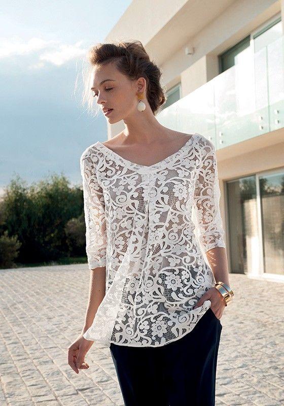 sfumature di miglior fornitore prodotto caldo nara camicie donne 2015 - Cerca con Google | Camicette di pizzo ...