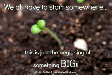 We all have to start somewhere.....