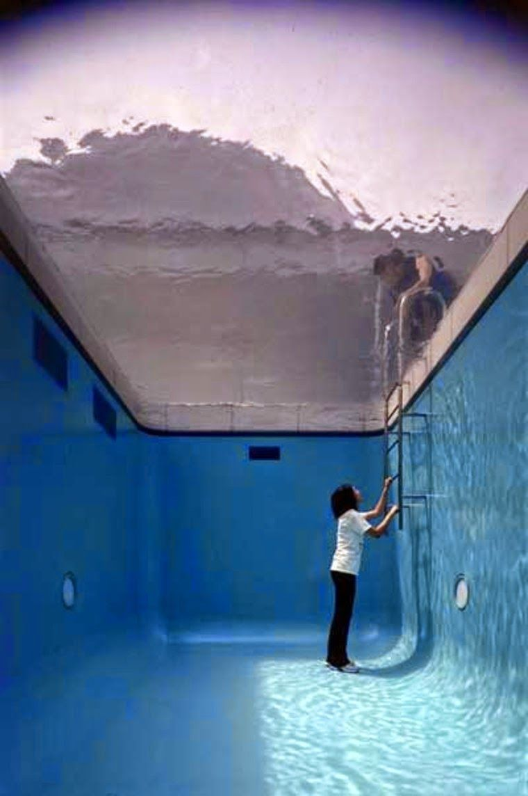 The Swimming Pool Illusion By Leandro Erlich Japan Designdaily Speaks Pinterest Art